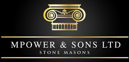 MPower and Sons Stone Masons Logo