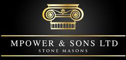 MPower and Sons Stone Masons Logo